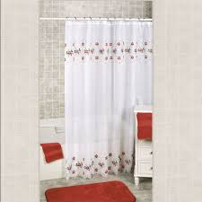 shower curtain christmas winter