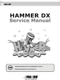 hammer dx manual mains electricity electric power