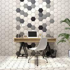 light grey hexagon tile hexagon matt light grey 20cm x 17 4cm wall floor tile bathroom