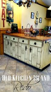 Old Kitchen Island by Kitchen Island Redo Redo It Yourself Inspirations Kitchen