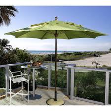 Large Tilting Patio Umbrella by 11 Foot Patio Umbrella Base Patio Outdoor Decoration
