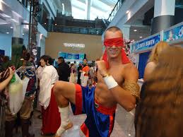 muay thai lee sin cosplay at anime revolution leagueoflegends