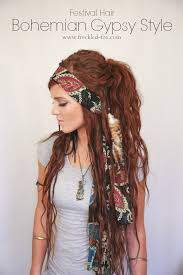 mens hippie hairstyles the freckled fox festival hair week bohemian gypsy style