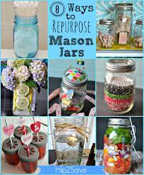 Mason Jar Home Decor Ideas 8 Ways To Re Purpose Mason Jars Everyday Items Purpose And Craft