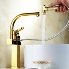 gold kitchen faucets discount gold pull out kitchen faucet 2017 gold pull out kitchen
