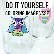how to color an image on glass easy technique the graphics