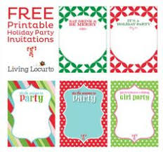 templates for xmas invitations free holiday printables free holiday printables pinterest