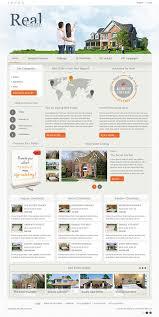 dj real estate02 joomla 3 x u0026 2 5 template on behance