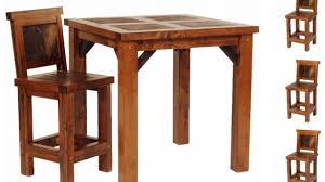 reclaimed wood pub table sets rustic pub tables amazing 5 piece wyoming table set reclaimed wood