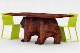 A Creative Furniture Design Concept Bear Table Freshomecom - Bear furniture