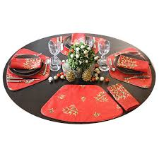 outdoor placemats for round table set of placemats for indoor outdoor round tables set of 2 4 6 or 8