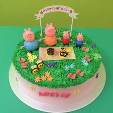 peppa pig cake ideas customised cakes singapore cake for your ones