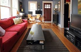 Living Room With Red Sofa by How To Furnish A Living Room With A Red Sofa 16 Stylish Ideas