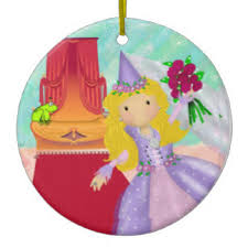 frog princess ornaments keepsake ornaments zazzle