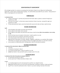 17 confidentiality agreement templates free sample example