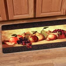Kitchen Floor Rugs by Decorating Inspiring Kitchen Rugs With Chef Drawing And Quotes