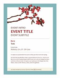 template for invitation flyer free event invitation flyer template