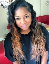 the best sew in human hair 95 best deep wave images on pinterest plaits curls and hair dos