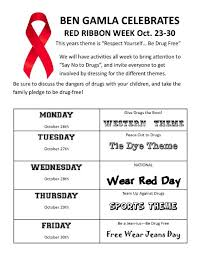 news post say no to drugs week october 26th 30th 2015 ben
