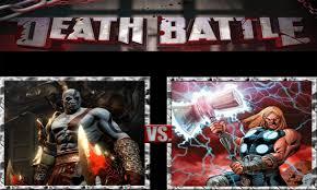 film god of war vs zeus kratos vs thor by scarecrowsmainfan on deviantart