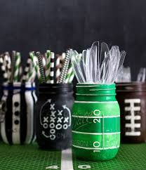 halloween mason jar crafts football party mason jars mason jar crafts love