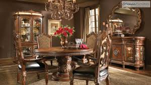 Dining Room Collections Villa Valencia Round Dining Room Collection From Aico Furniture