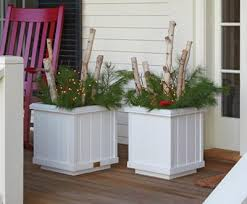 Front Porch Planter Ideas by Rockport Planters Slightly Smaller Planters That Fit Perfectly