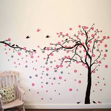 butterfly tree wall decals tree with owls and butterflies tree