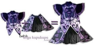 desain baju jepang batik coordinates design hellokumiho
