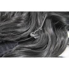 invisible hair 30 inch attractive invisible drawstring human hair ponytail curly
