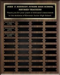 retirement plaque retirement master plaque award place