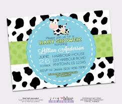 baby shower cowboy moolala boy baby shower invitation cowboy farm invite blue
