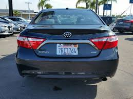 toyota camry trunk 2016 used toyota camry 4dr sedan i4 automatic xse at bmw of san