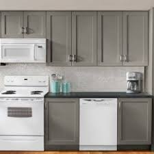 gray kitchen cabinets white appliances light gray kitchen cabinets with white appliances kitchen