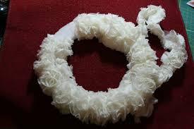 styrofoam wreath road design team road inspired christmas wreath