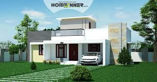 low cost 2 bhk indian house design 1088 sqft