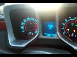 2010 camaro ss top speed run