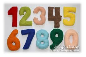 pattern and numbers crochet numbers pattern 0 9 numbers crochet pattern crochet