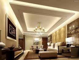 Modern Livingrooms Change The Look With Unique Ceiling Design For Living Room