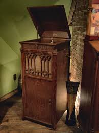 victrola record player cabinet encountering antique phonographs the antique phonograph society