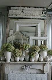 Shabby Chic Fireplace Mantels by Love The Way Kathleen Had Done Her Mantel In Her Bedroom