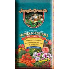 Vegetable Garden Soil Mix by Shop Jungle Growth 2 Cu Ft Flower And Vegetable Garden Soil At