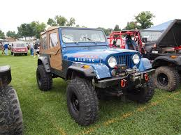 turquoise jeep cj project jeep cj 7 radiator protection offroaders com