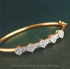 bracelet diamond designs images Ladies diamond bracelet from south india jewels jpg