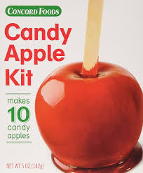 candy apples boxes concord foods candy apple kits 5 ounce box value pack of 24