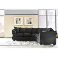 Black Microfiber Sectional Sofa Black Microfiber Sectional Sofa