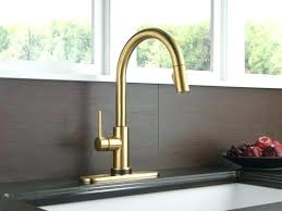bronze kitchen faucets chagne bronze kitchen faucet and delta single handle pull
