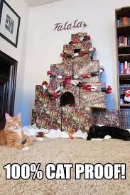 Cat Climbing Christmas Tree Video 21 Best Christmas Cats Images On Pinterest Christmas Cats