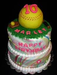 softball cake ideas bing images softball party pinterest