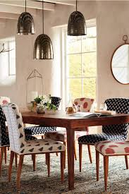 traditional dining room ideas with anthropologie elza ikat dining